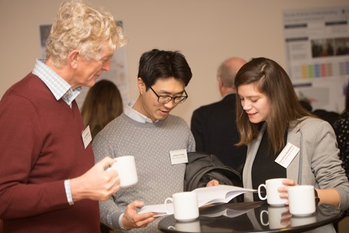 Photo of attendees at Urban Big Data Centre event